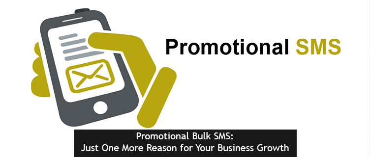 Promotional Bulk SMS: Just One More Reason for Your Business Growth