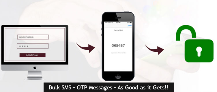 OTP Bulk SMS – OTP Messages – As Good as it Gets!!